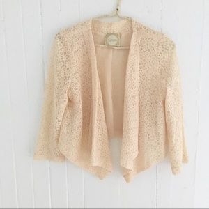 Alythea Lace Cardigan Top